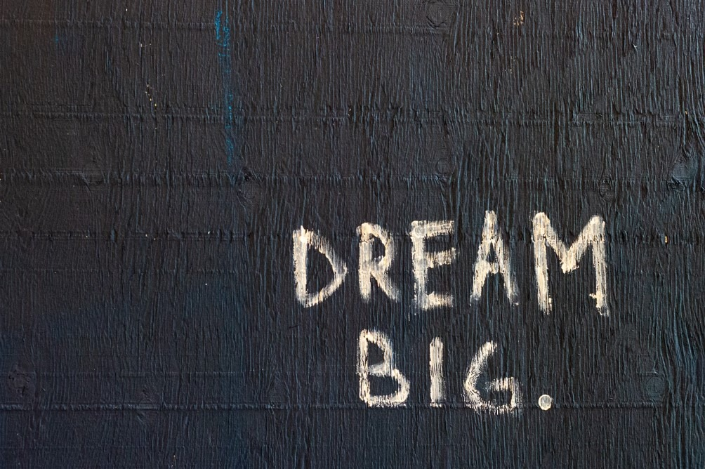 Dream big. focus on Content Strategy.