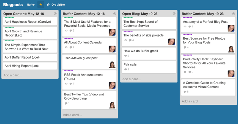 Using Trello to Manage Your Content Schedule