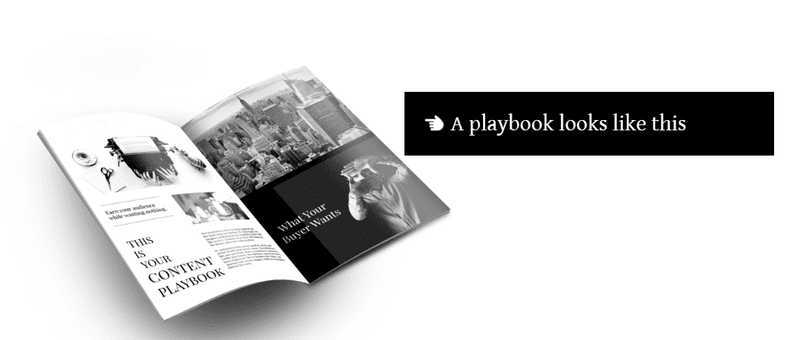 invest the time to build your content marketing playbook