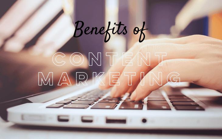 content marketing benefits