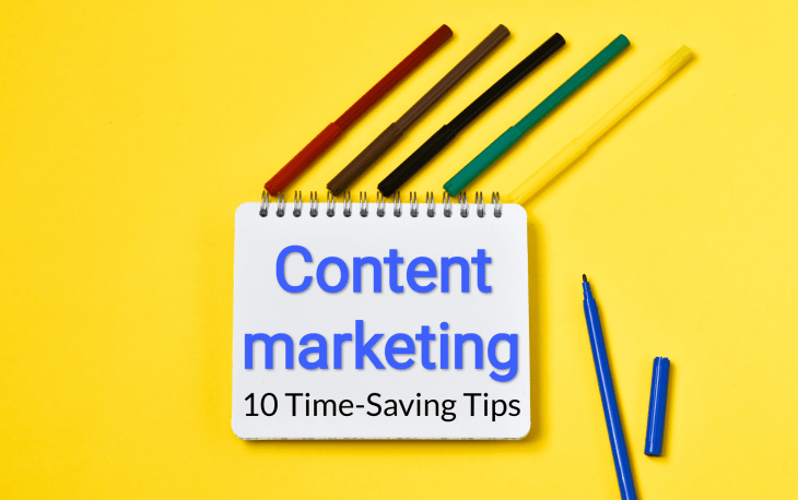 content marketing tips for saving time